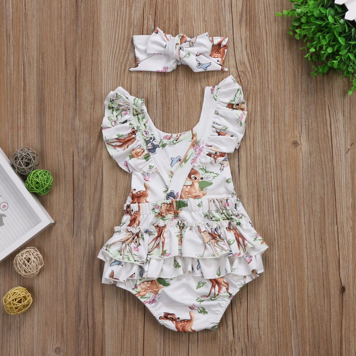 5ee9c4a05b5 Bambi Romper · Isabella Iris Boutique · Online Store Powered by Storenvy