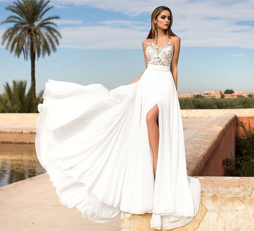 Buy summer beach wedding dresses> OFF 20