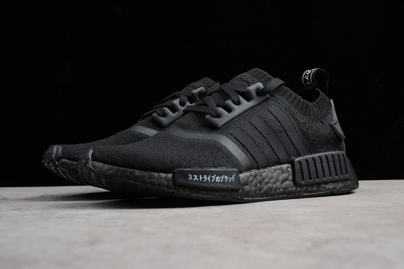 a464d034a8816 Adidas NMD Boost R1 All black runner shoes BZ0220 · Toms · Online ...