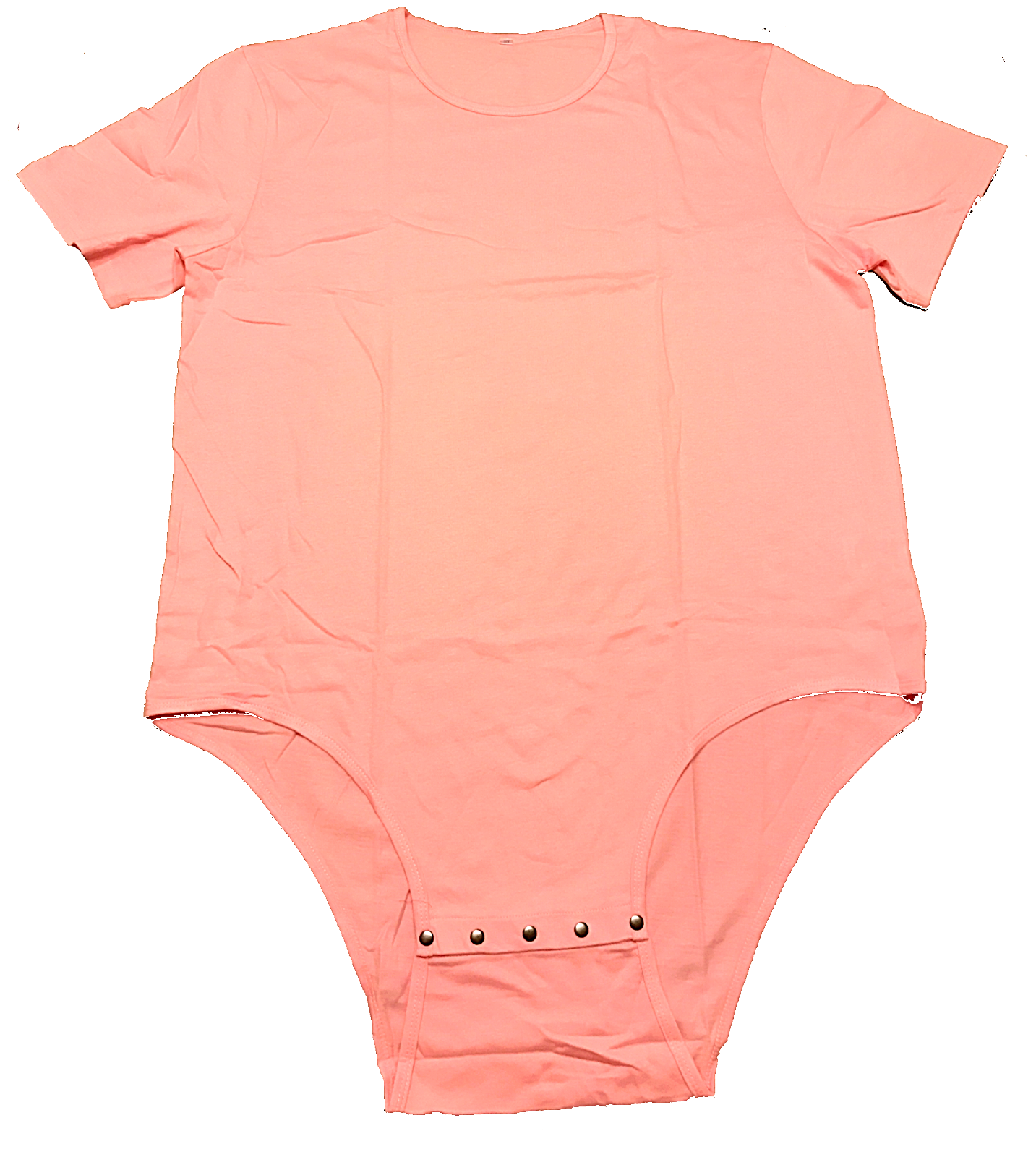 35926a6320 Adult Romper Onesie Snap Crotch in Pink on Storenvy