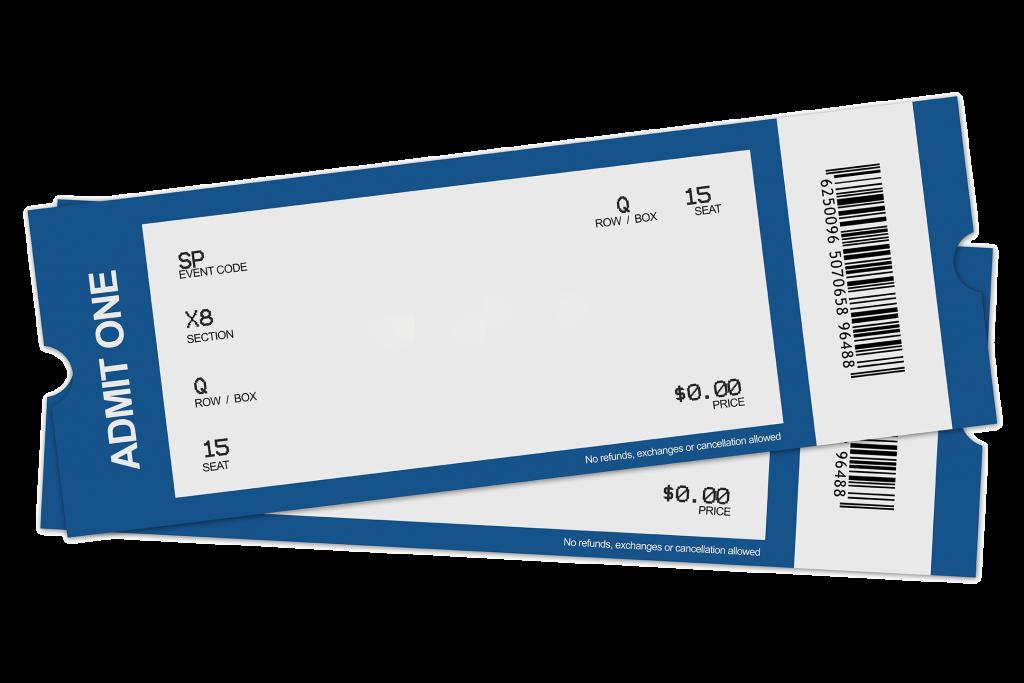 Printable Football Ticket Template | Free Printables ...  |Blank Baseball Game Ticket