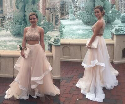 95ccbc39e 2 pieces prom dress