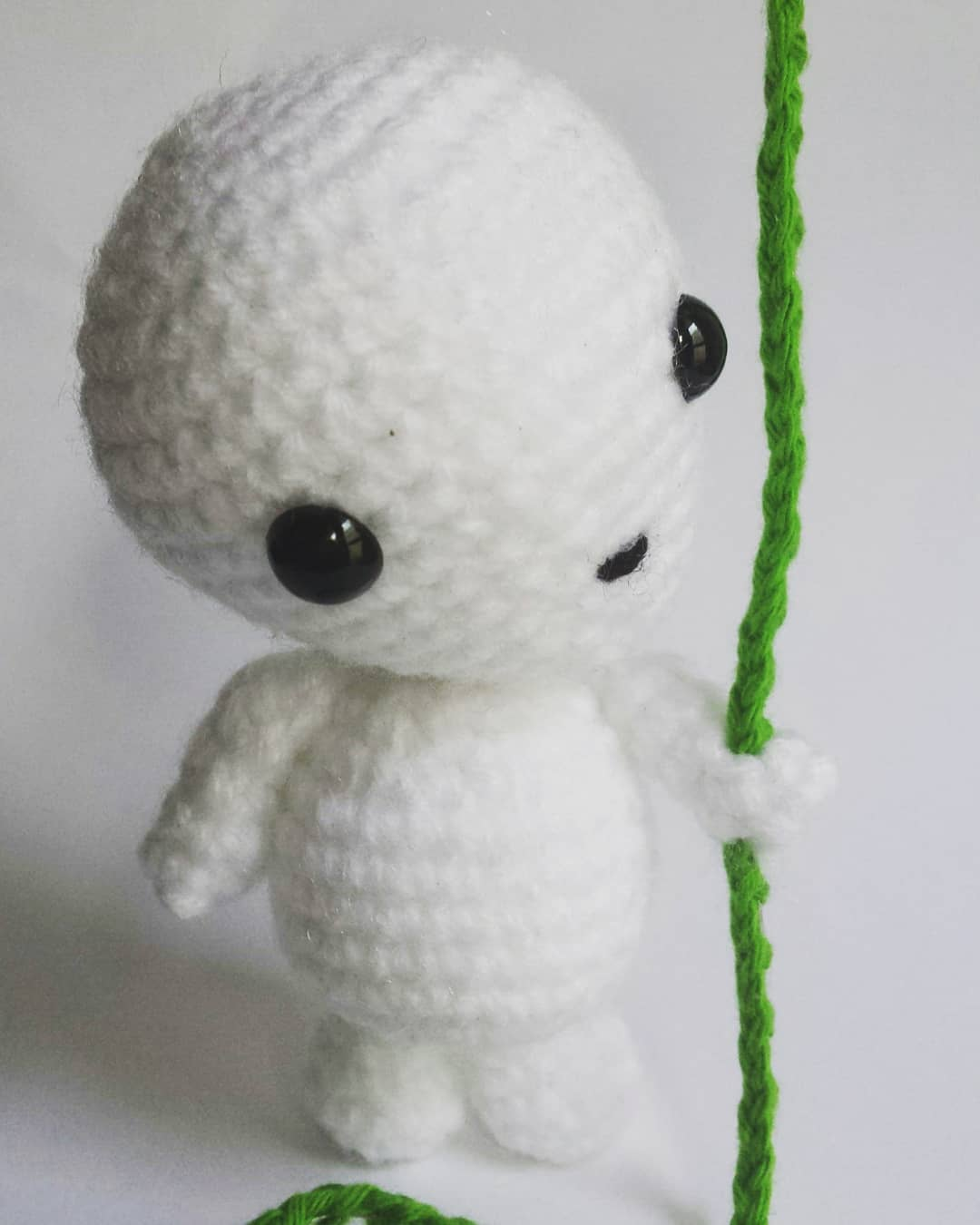 Princess Mononoke inspired crochet doll, Crochet Princess Mononoke ... | 1350x1080