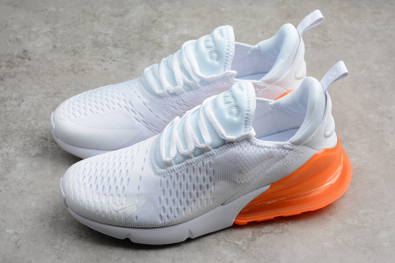 reputable site 2ccd4 e82ae Fashion Nike Air MAX 270 White Orange AH8050-102 on Storenvy