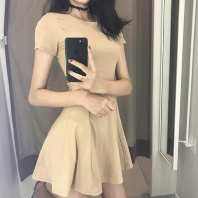 6ceb4f78f2 Basic skater dress. Basic Skater Dress.  28.00 · Pastel overalls dress