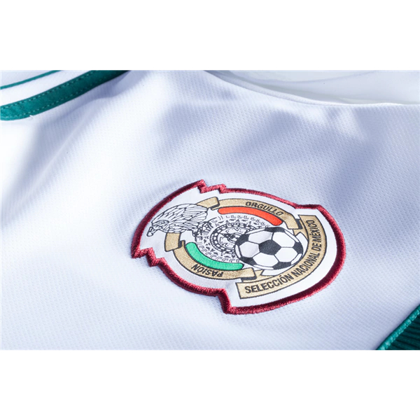 new arrivals fb64c cae59 Hirving Lozano #8 Mexico Football Shirt 2018 National Team Away Stadium  Soccer Jersey White from HoHo Jersey Collection