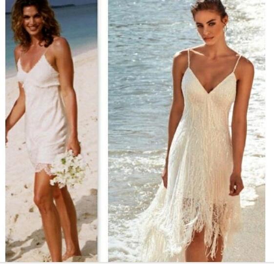 ebe3ae111e Short Beach Wedding Dress15.000 Beautiful Wedding Guest Dress Ideas