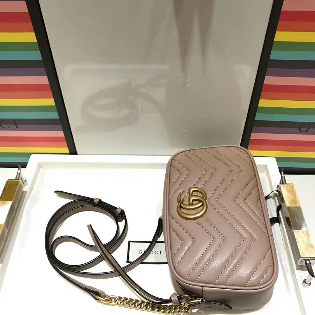 e85852dde024 ... GUCCI GG MARMONT MINI QUILTED LEATHER CROSS-BODY BAG - Thumbnail 2 ...