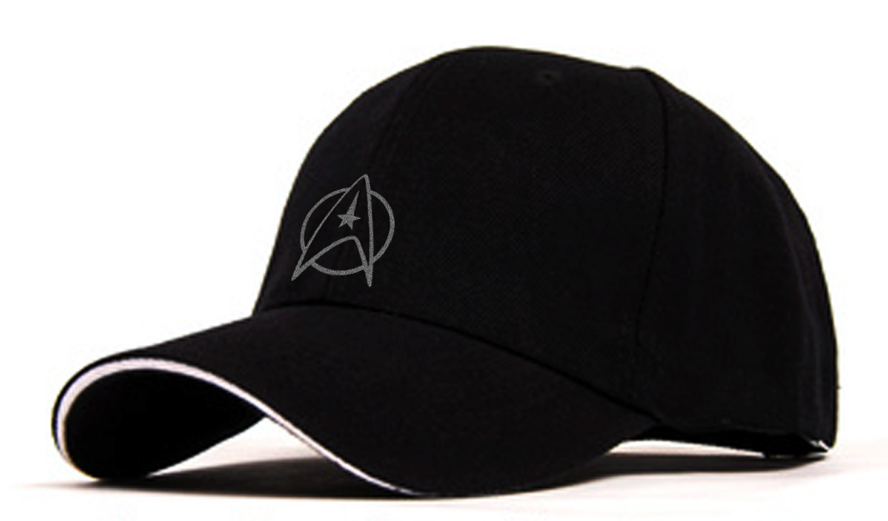 6131aa9635 Star Trek Flocking Adjustable Baseball Cap 1 only! on Storenvy