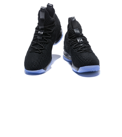 f0525755e555 Nike Lebron XV 15 EP Triple Black James Sneakers Men s Basketball Shoes