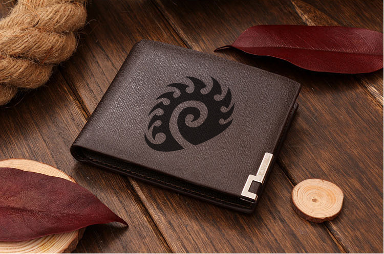 Starcraft Zerg Leather Wallet 1 only!