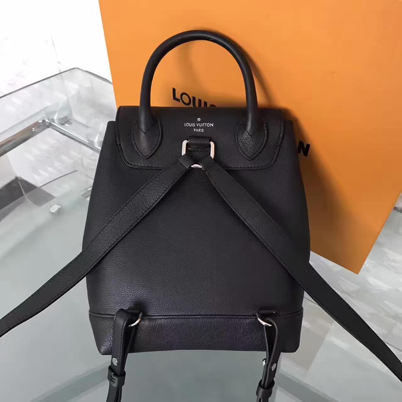 6b38d2a42a1d Louis Vuitton Lockme Backpack Noir on Storenvy