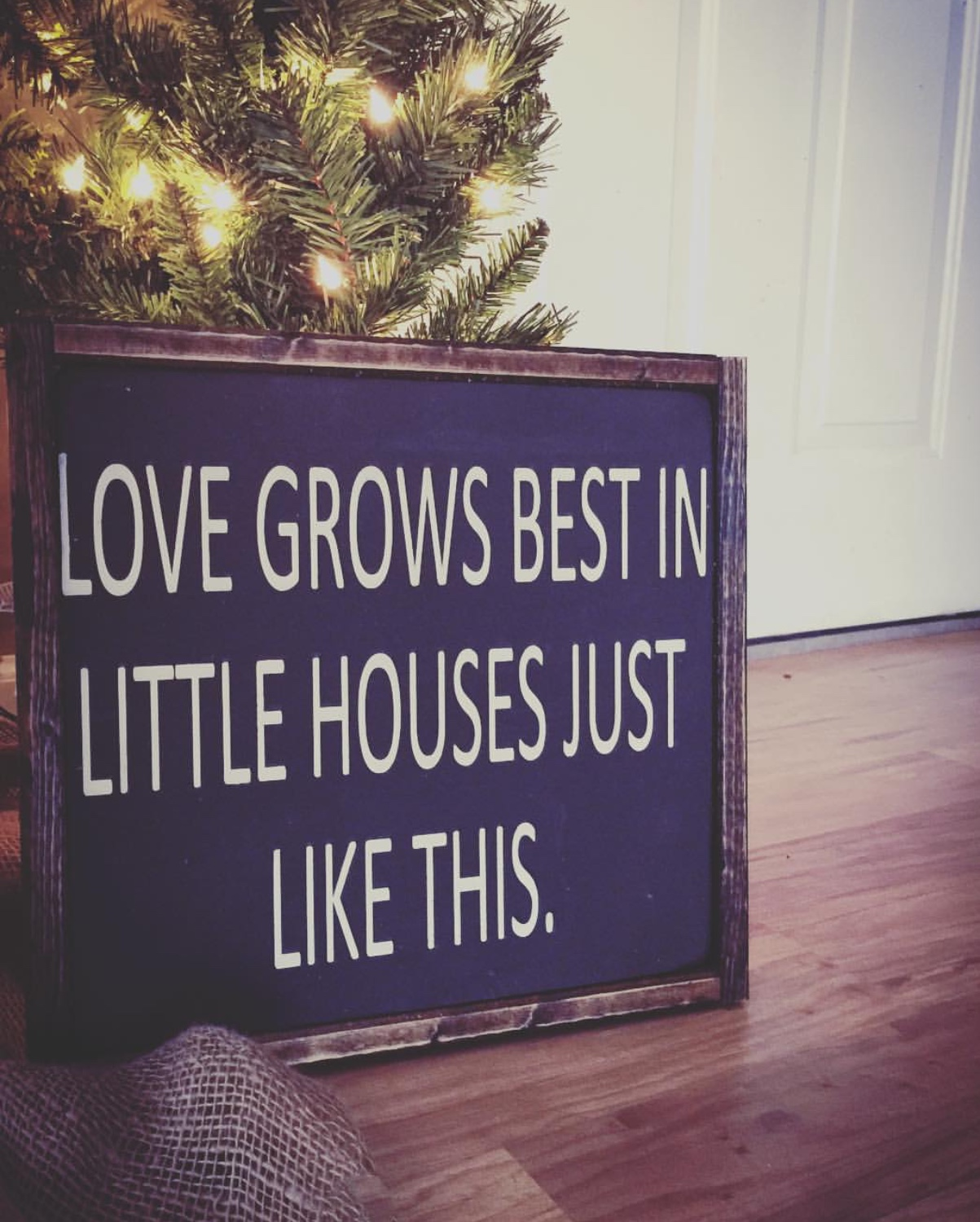 Love Grows Best Sign Sold By Third And Sunset On Storenvy