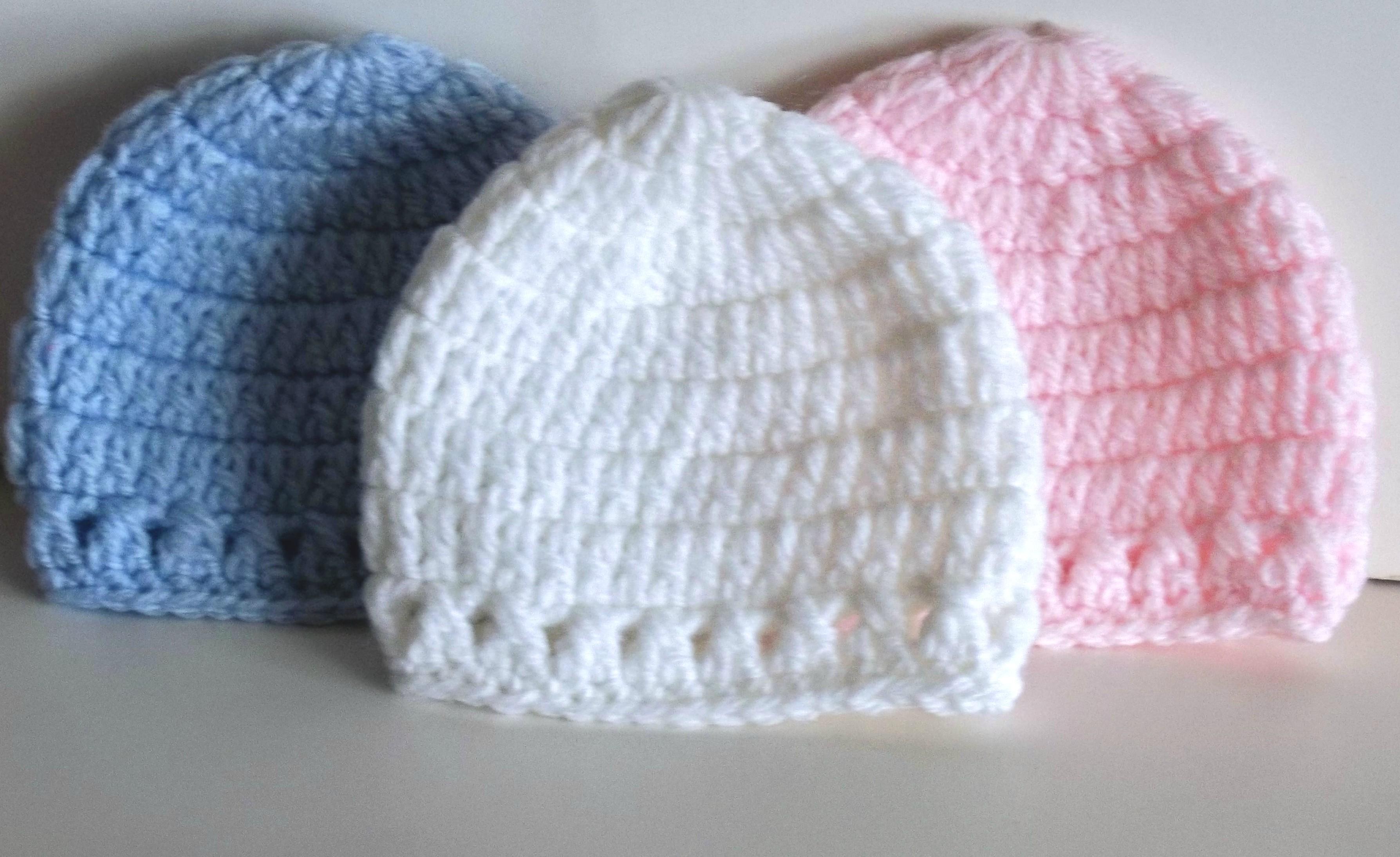 38fa62b78 Micro Preemie Hat Style 2