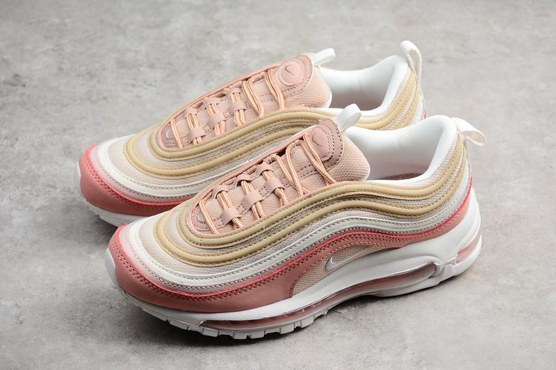 7a92a095550e1 Nike Air Max 97 Premium Pink running shoes 312834-200 · Toms ...