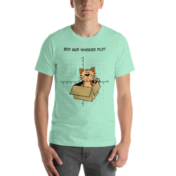 a29c75f7b6 ... Box and Whiskers Funny Math Short-Sleeve Unisex T-Shirt - Thumbnail 6  ...