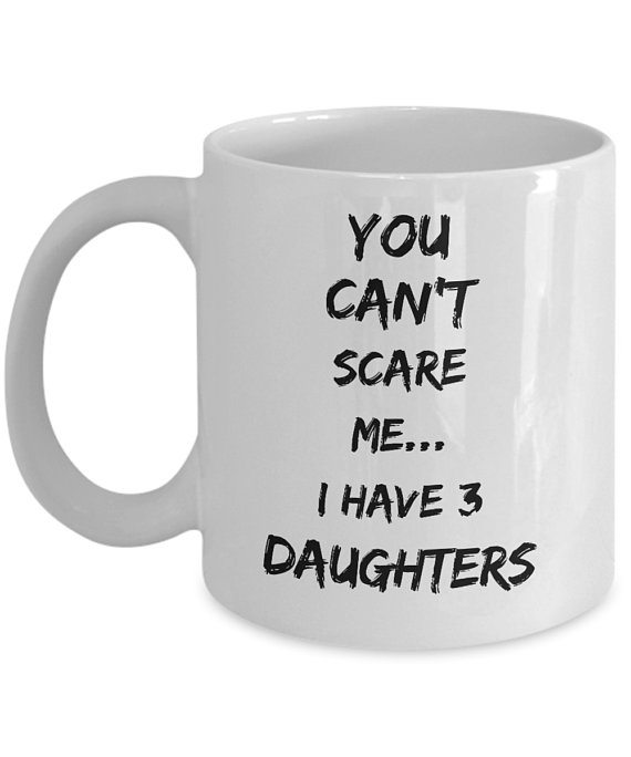 CUTE DAD GIFT Idea Fathers Day Gift From Daughter New Dad Mug