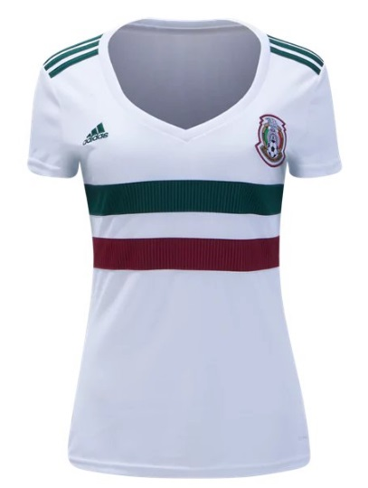 ... huge sale 1d929 1fbff Mexico Womens Away Soccer National Team Jersey  2018 Shirt White ... 8fee16ffa