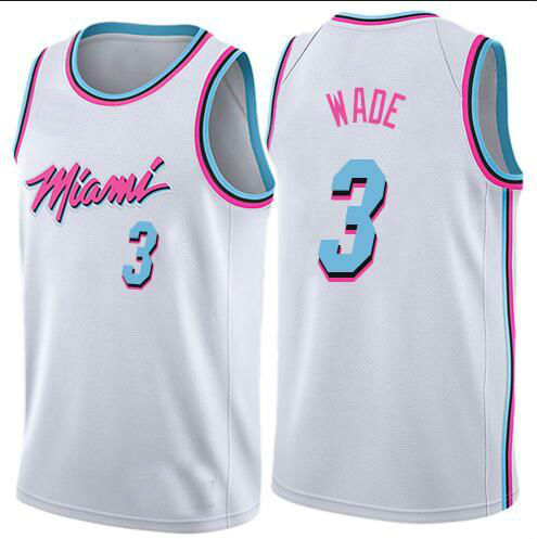 new styles 7b24b d5ccf 2018 Mens Miami Heat City Edition 3# Dwyane Wade Black Basketball Jersey  from teamjerseyinc