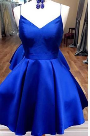 Blue Bow Dress