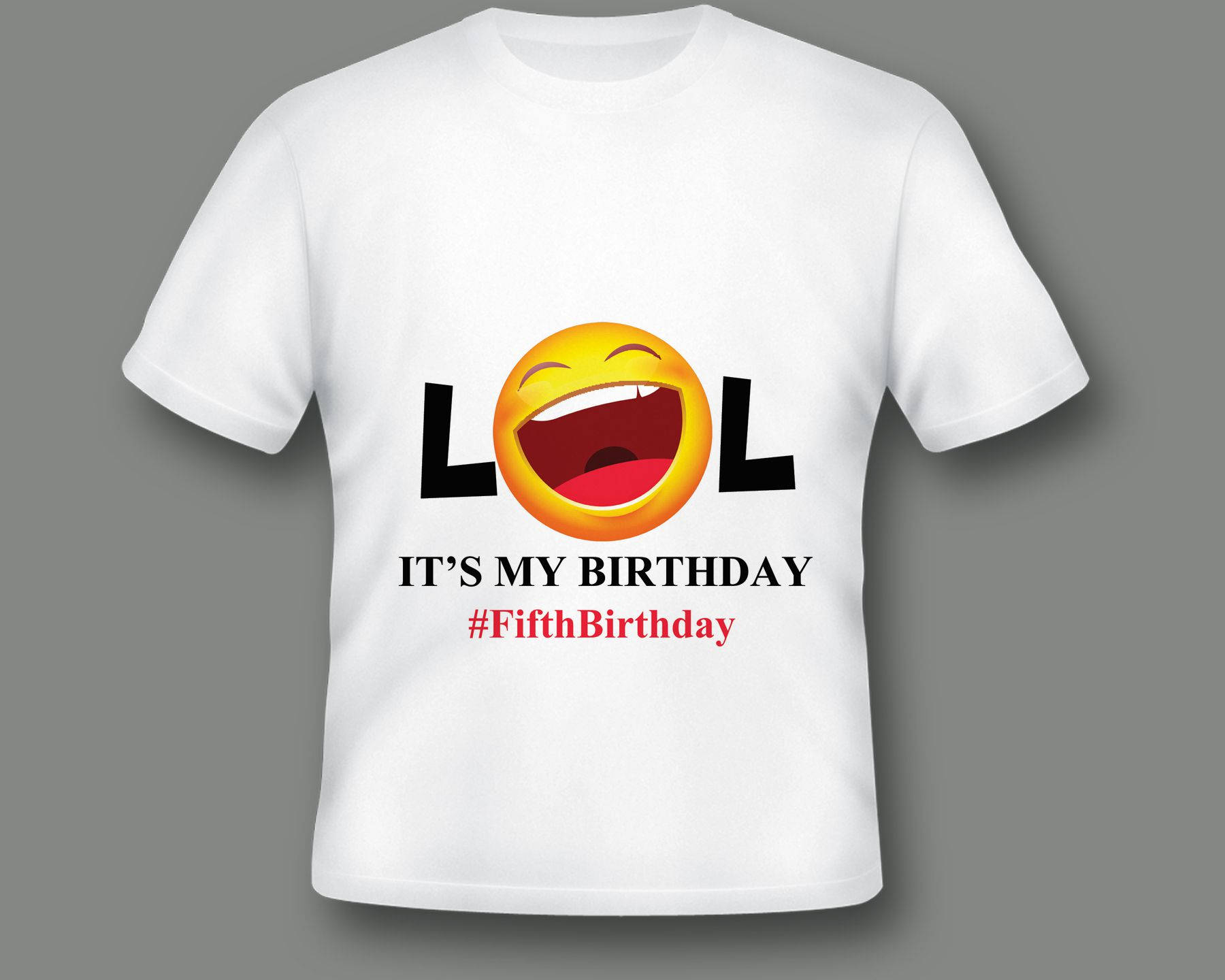 Emoji Birthday Party Shirt Kid Custom 5100053 On Storenvy