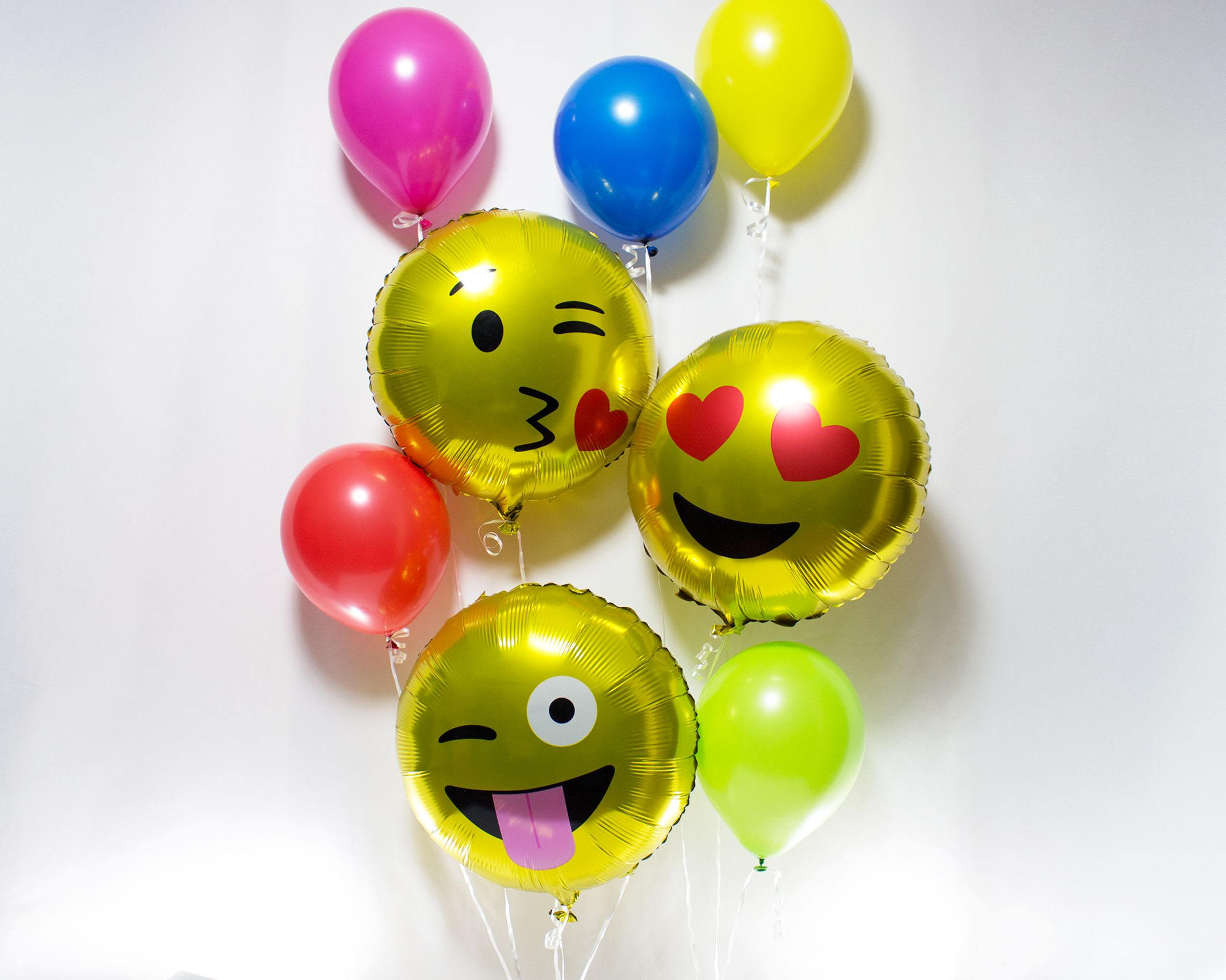 Emoji Party Balloons Birthday Decorations Theme Aluminium Foil Balloon Giant 600004 On Storenvy