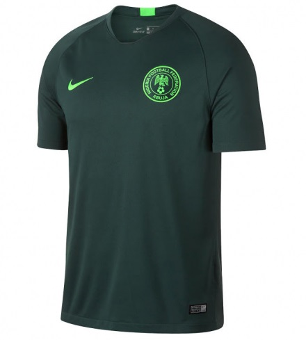 dc0f0898bd2 Nigeria Jersey 2018 Custom Away Soccer Men National Team Shirt Green ...