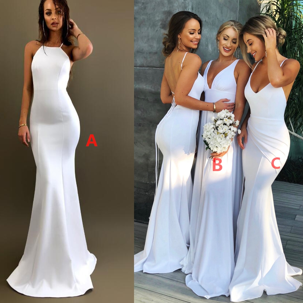 Most Popular Bridesmaid Dress: White Bridesmaid Dresses,Mismatched Bridesmaid Dresses