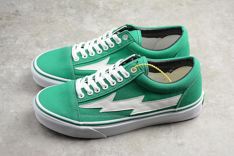 124cbf5040b3 VANS Revenge X Storm Old Skool Canvas Designer Green Shoes · Toms ...