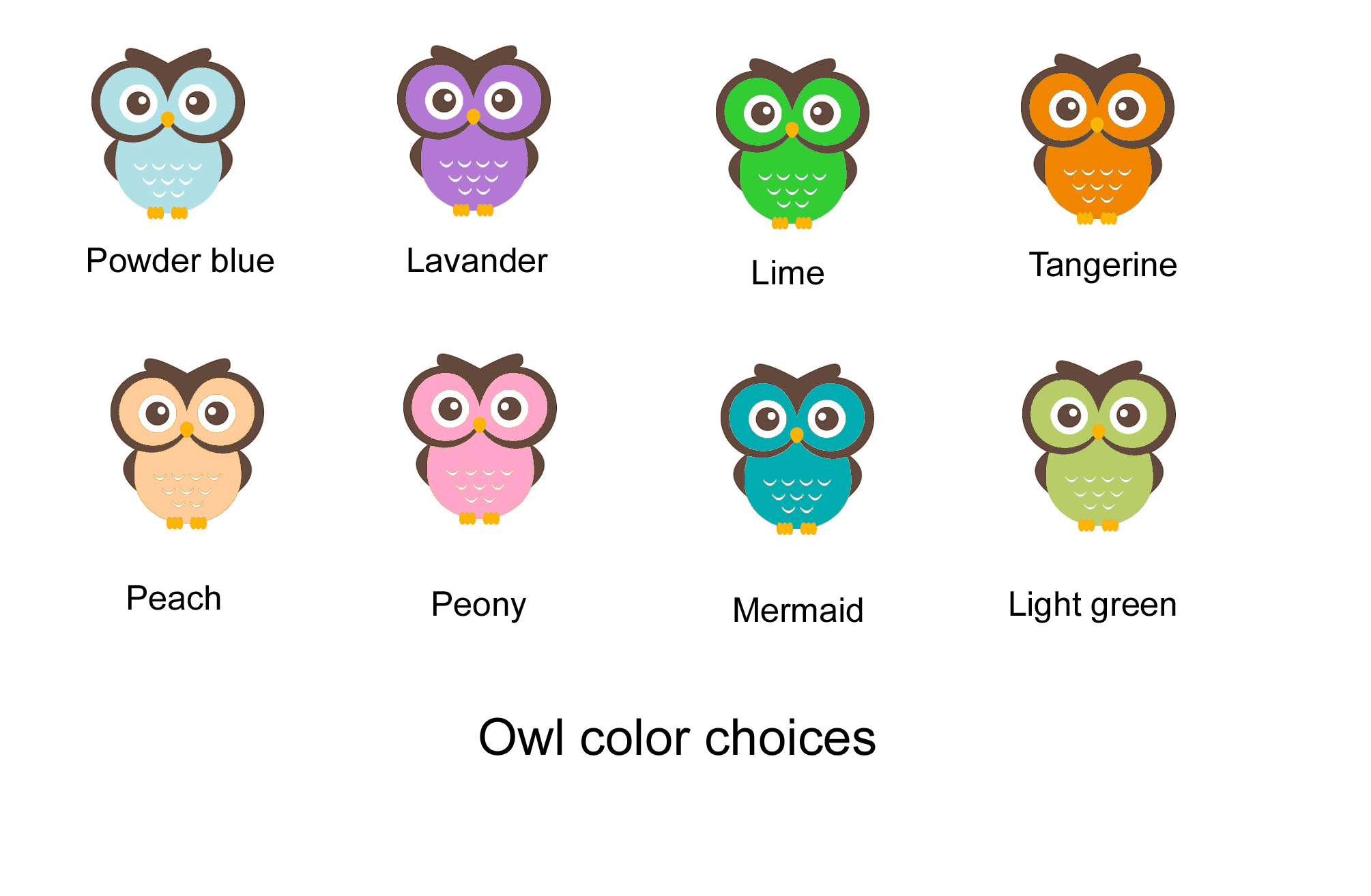 cute owl personalized name tag- back to school - college - stickers
