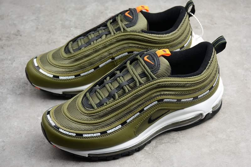662f5f9a4ac6 Undefeated x Nike Air Max 97  Flight Jacket  Shoes AJ1986-300 · Toms ...