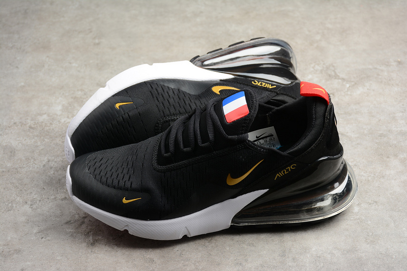 ee457da24a9 Fashion Nike Air Max 270 France Black Running Shoes on Storenvy