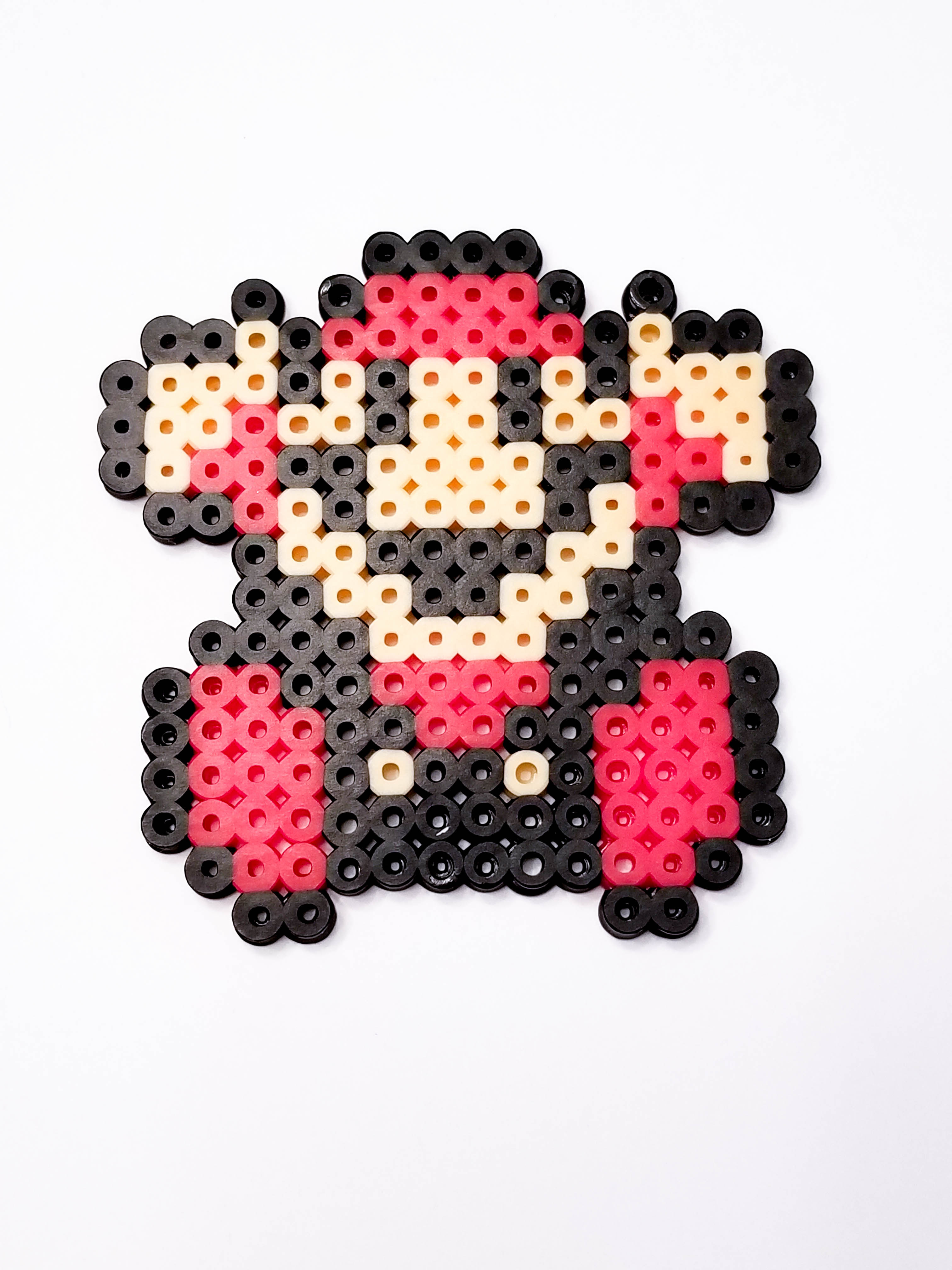 Mini Mario You Lose Bead Sprite Pixel Art Piece A Little Twist Designs Online Store Powered By Storenvy Man holding lamp illustration, fantasy art, pixel art, super mario, super mario bros. mini mario you lose bead sprite pixel