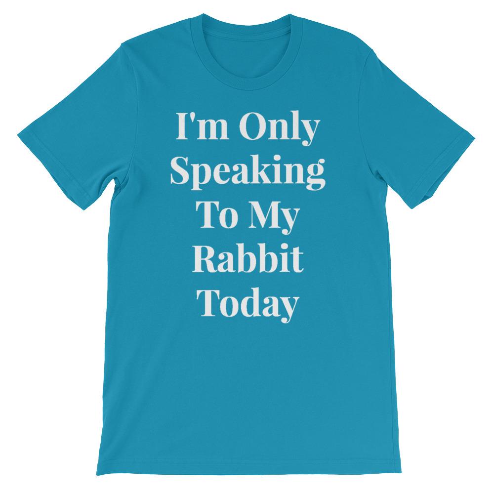 f9fbe1bdb Funny Rabbit Shirt, Bunny Owner Tshirt, Tee Gift for Bunny Lover ...