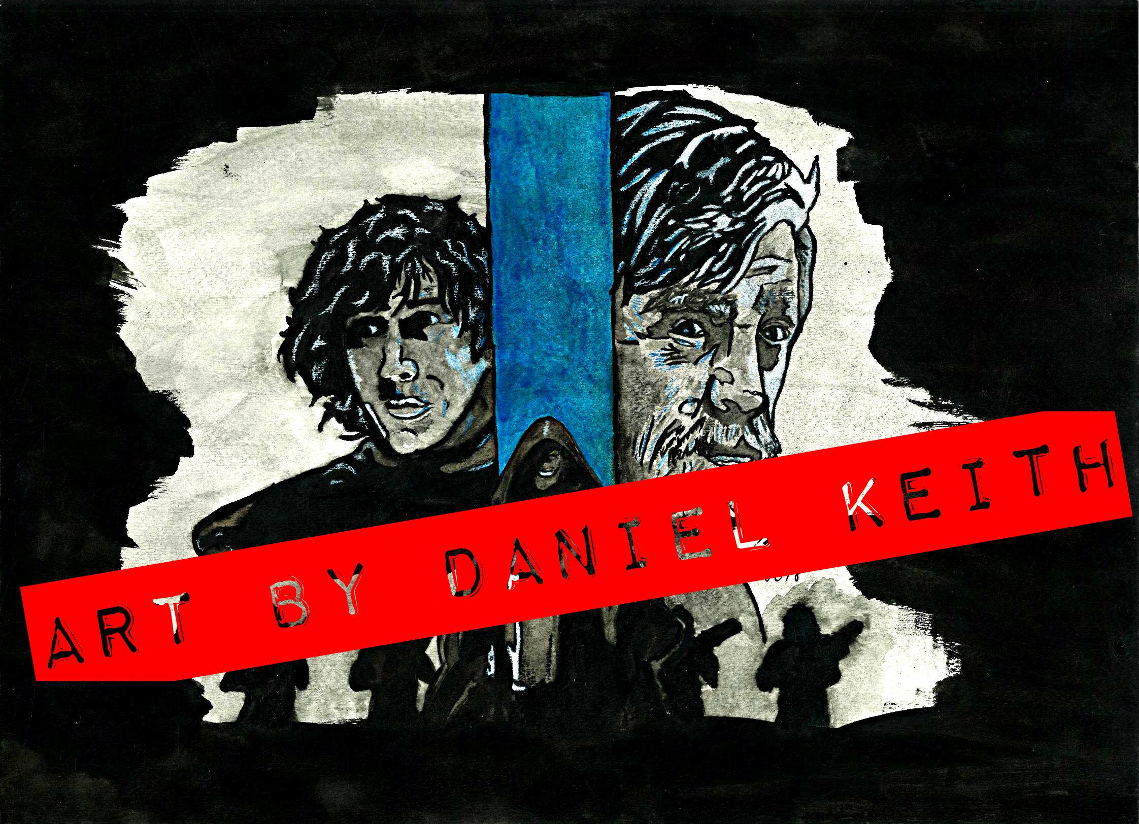 Print: Skywalker Family, Star Wars, Kylo Ren, Anakin & Luke Skywalker from  Art By Daniel Keith