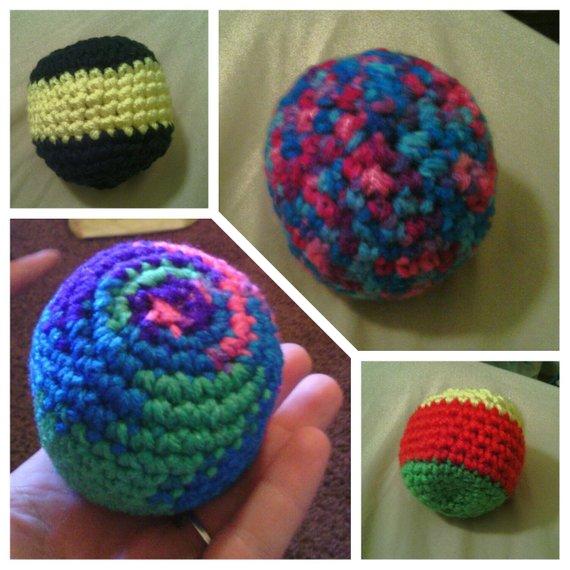 Crochet Hackey Sack On Storenvy