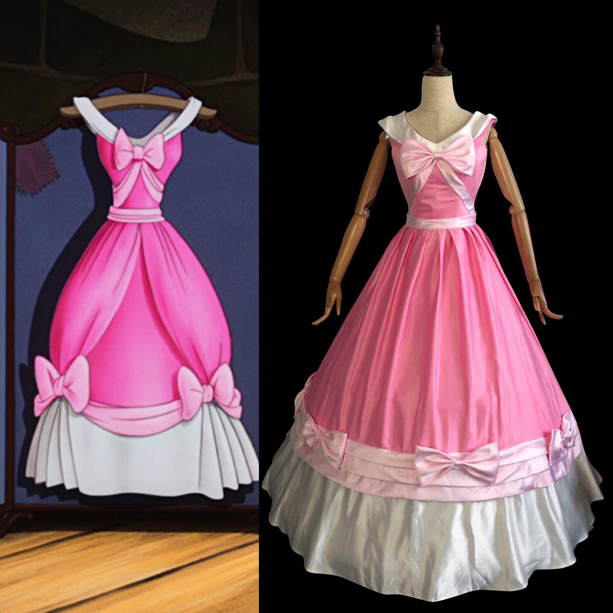 P147 Cinderella Pink Dress On Storenvy