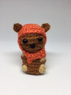 Wicket The Ewok Amigurumi Crochet Pocket Yarnlings Online Store