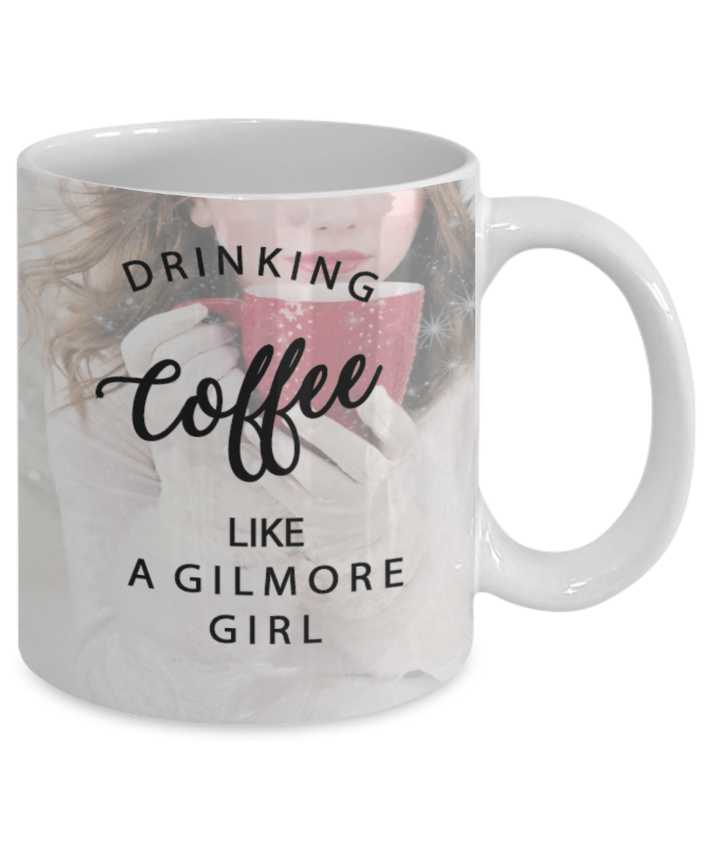 Gilmore Girls Gift Drinking Coffee Like A Gilmore Girl With Image Novelty Gifts Ceramic Coffee Cup By Vitazi Kitchenware