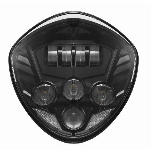 60W LED Headlight Hi//Lo Beam For Victory Cross Country Tour 8-Ball Vegas