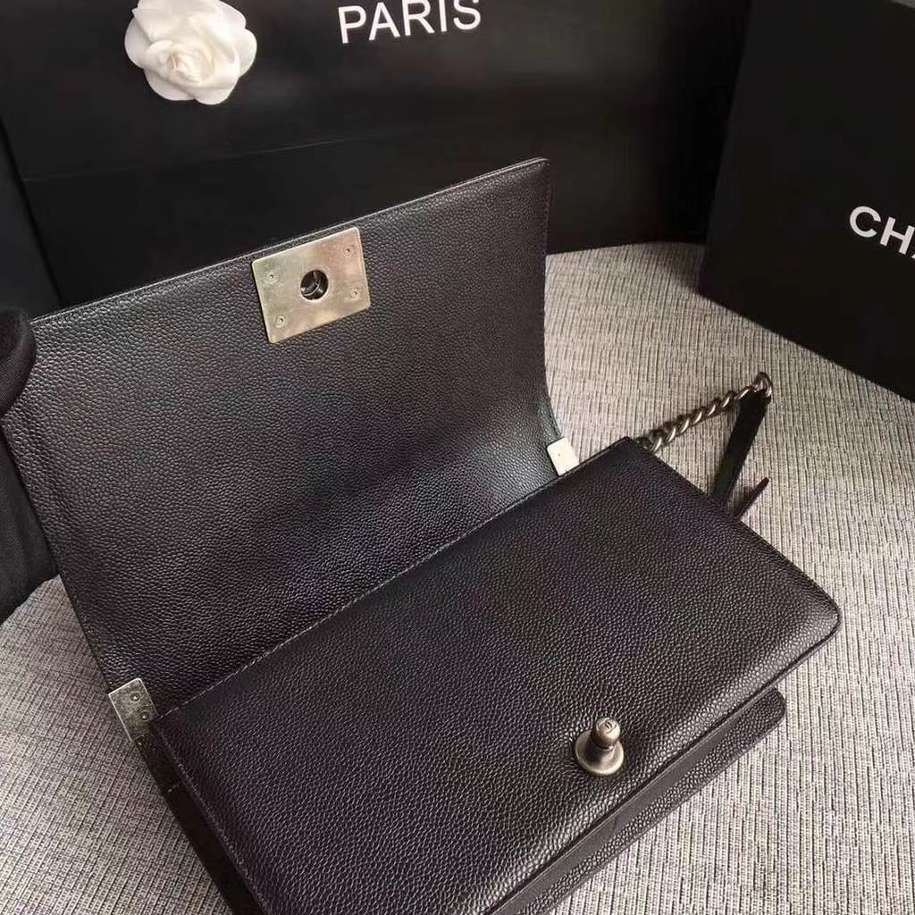 6493e0a82e70 Chanel Le Boy Flap Quilted Lambskin on Storenvy