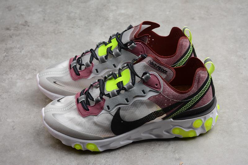 "cf224597d3f3 Nike React Element 87 ""Desert Sand"" Shoes AQ1090-002 · Toms · Online ..."