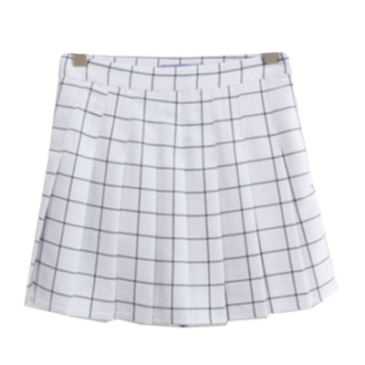 36402a6f4a78 GRID SCHOOL SHORT PLEATED SKIRT · sionoe · Online Store Powered by ...