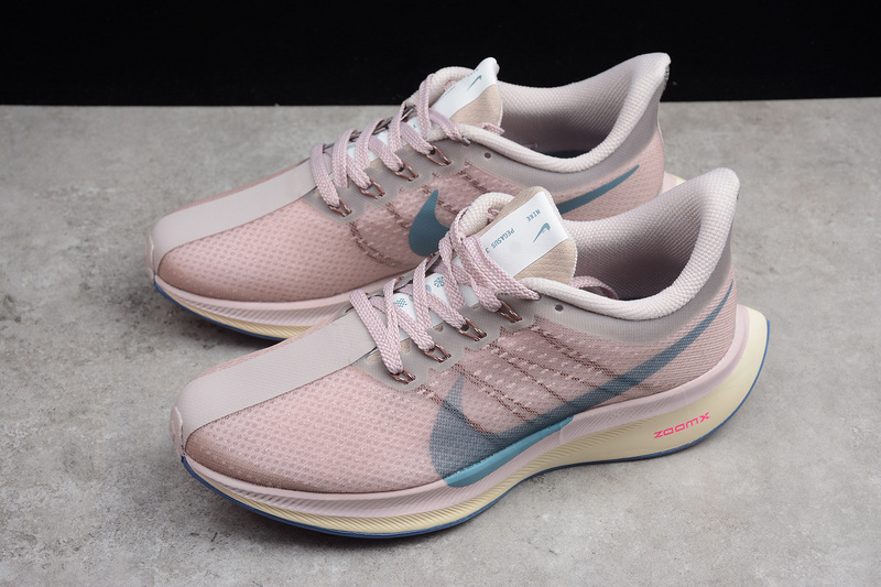 2f2a089e9c530 Nike Zoom Pegasus 35 Turbo Pink Blue Running Shoes AJ4115-601 · Toms ...