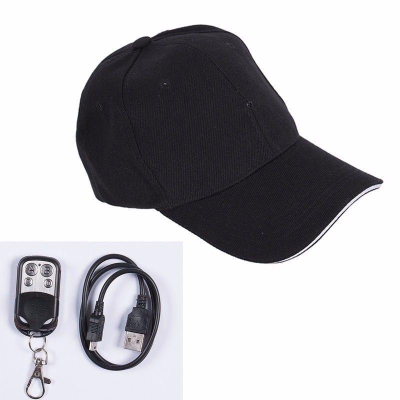 Hidden Camera HD 8GB 1080P DVR Cap Hat Camera Audio Video Recorder Spy Cam
