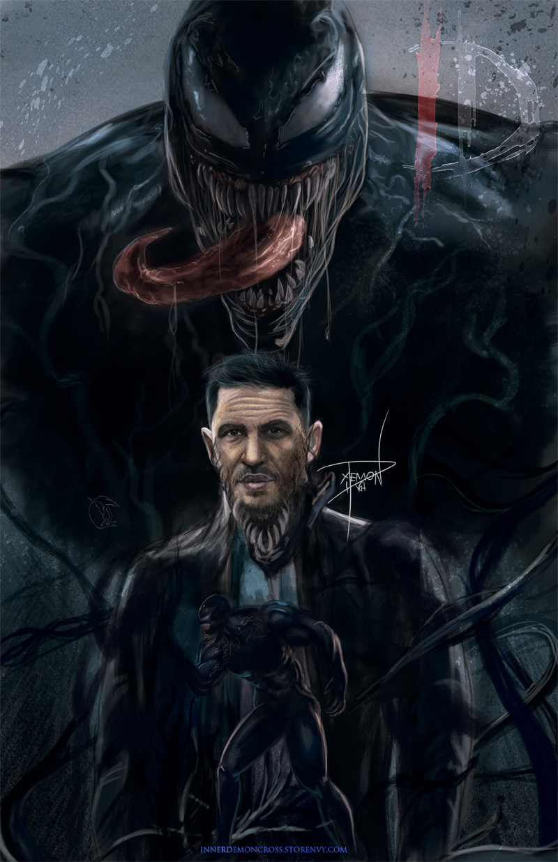 Venom 2018 Inner Demon Art Online Store Powered By Storenvy See more ideas about art, demon art, fantasy art. venom 2018 from inner demon art