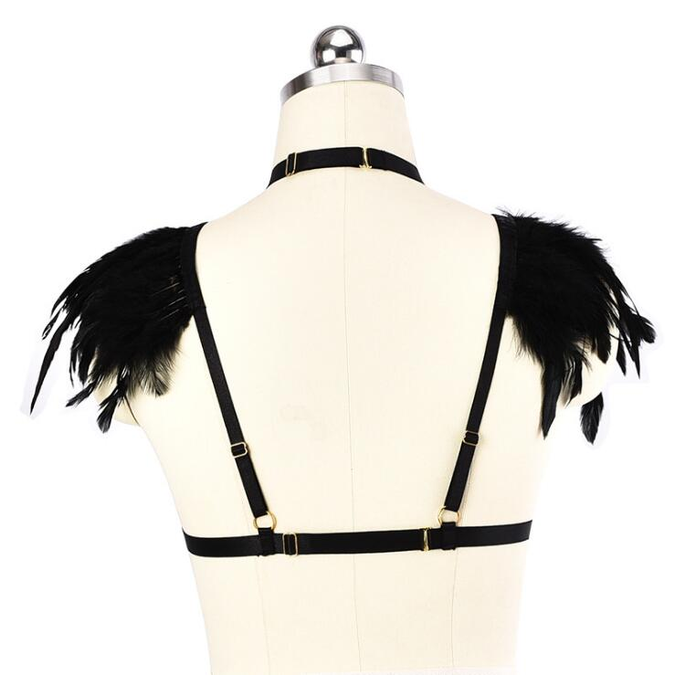 Hang Neck Beauty Back Metal Ring Shoulder Feather Wire Harness. Hang Neck Beauty Back Metal Ring Shoulder Feather Wire Harness Underwear Thumbnail 1. Wiring. Hang Wire Harness At Scoala.co