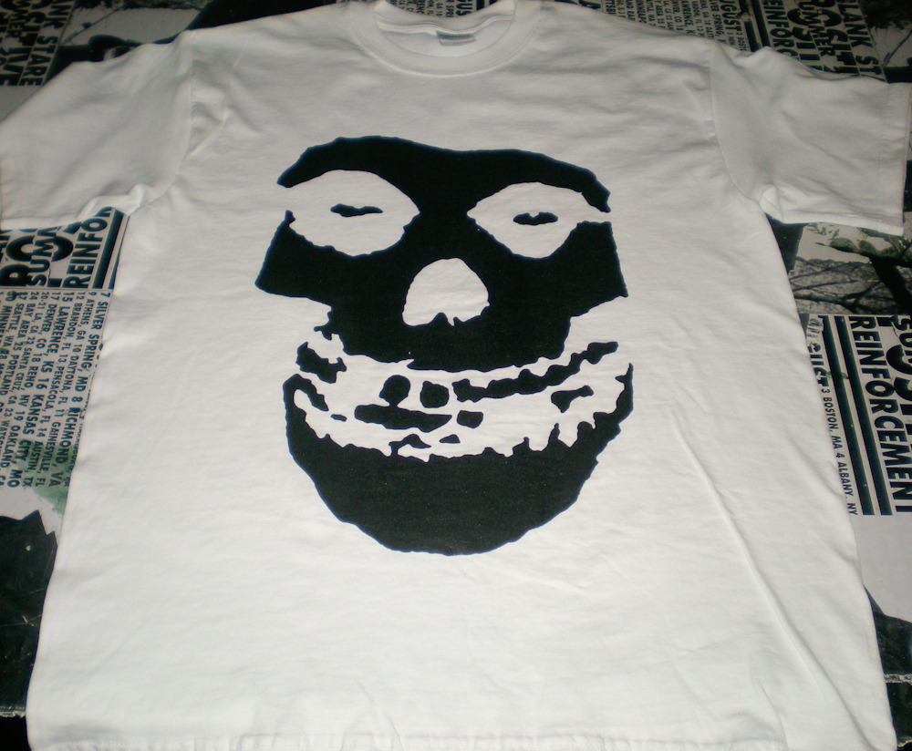 Misfits Crimson Ghost T Shirt Side Two Online Store Powered