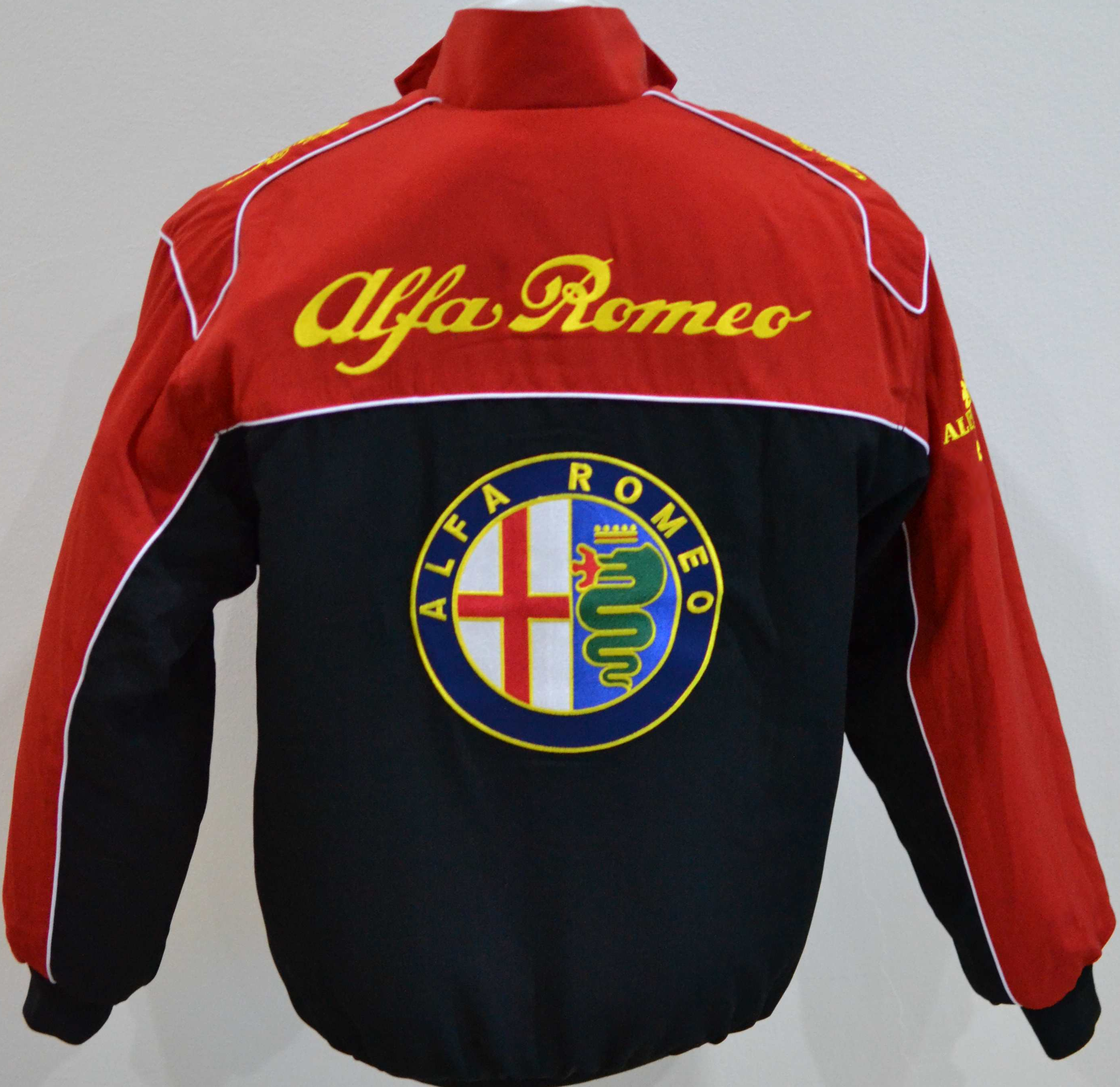 Alfa Romeo Jacke Alfa Romeo Jacket Black Red Pro Fashion