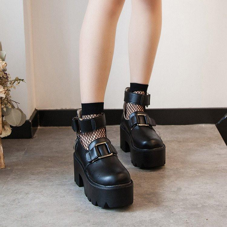 537300c333f8b9 Black Punk Platform Shoes · storexingfu · Online Store Powered by ...